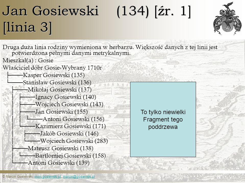Jan Gosiewski (134) [źr. 1] [linia 3]